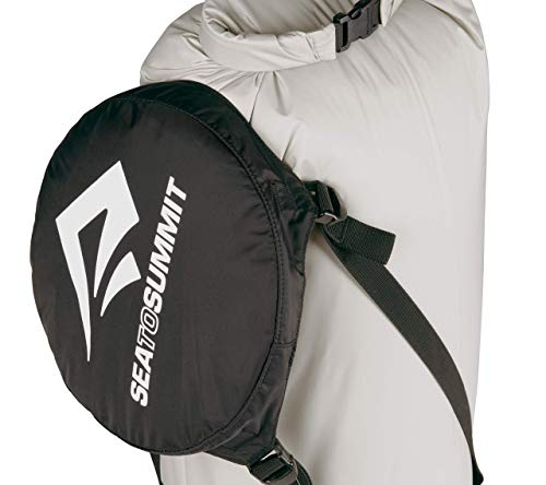 Sea to Summit Event Compression Dry Sack 6 Best use: The best dry bag/compression sack for sleeping bags & other bulky yet compressible items Capacity: 6 liter - a layer, beanie, and gloves Compressed: evenly compresses down to 1/3rd orinial volume with 4 straps; 6L to 2L