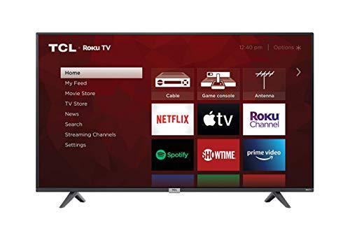 TCL 50-inch Class 4-Series 4K UHD Smart Roku LED TV - 50S435, 2021 Model (Renewed)