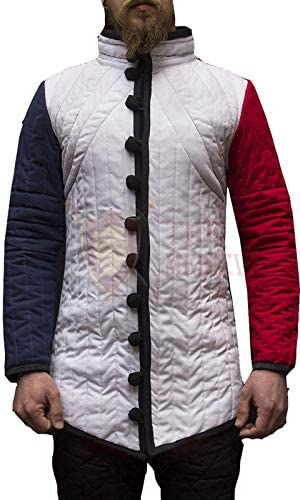 THE MEDIEVALS Max 45% OFF Thick Padded Half Coa Full 25% OFF Gambeson Length Sleeves