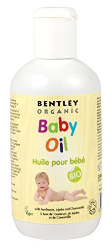 Bentley Organic Baby-Pflegeöl, 250 ml, 2er-Pack