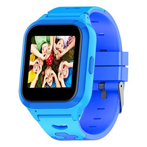 Bearbelly Smartwatch GPS para niños, 1.44 Pulgadas, Anti-perdida, Safty Zone, Walkie Talkie, Monitiring Sleeping, History Route, Reloj Inteligente para niños, niñas, niños