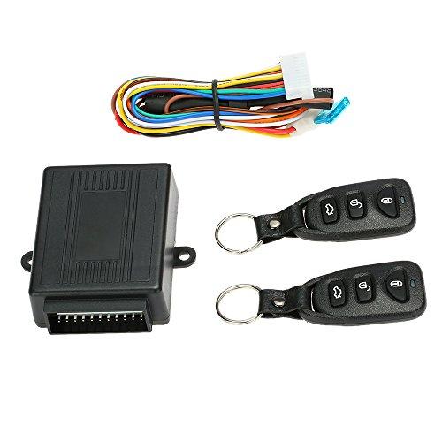 KKmoon - Mando a distancia para cerradura central del automóvil - Sistema de apertura sin llave Kit 7