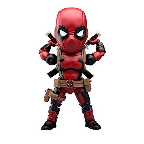 WANGSHAOFENG La Tienda Principal del Reino de la Bestia Marvel Dead Sorberer Collector's Edition Model Dolls Puede Hacerlo Juguetes Spiderman Negro