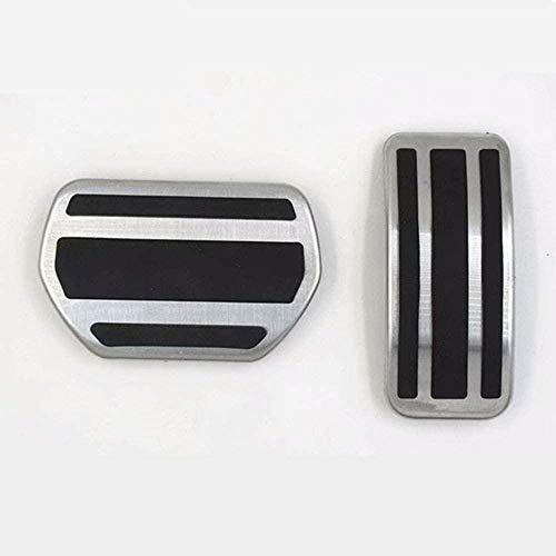 Accesorios de Pedal de Acelerador Antideslizante LHD,para Coche,para Peugeot 207, 301, 307, 208, 2008, 2010, 2011, 2012, 2013, 2014-2 Piezas