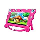 Ainol Tablette Enfant Pas Cher, 7C08-X - 7', Android 8.1, 1 Go + 16 Go, A50 Cortex-A7QuadCore, Caméras Avant: 0,3 M; Arrière: 2.0 M+0.3MP, 3200mah Batterie - Rose
