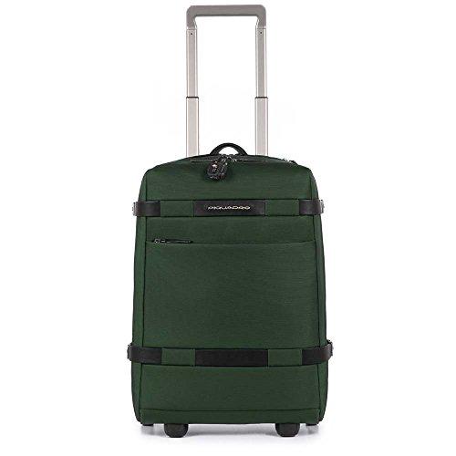 Piquadro Move 2 Zaino Portabilità a Trolley, Sintetico, Verde, 48 cm