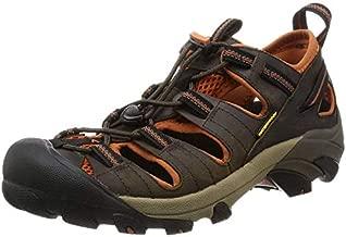 KEEN Men's Arroyo II Hiking Sandal,Black Olive/Bombay Brown,8.5 M US