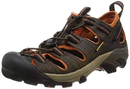 Keen Arroyo Ii, Chaussures de Randonnée Basses Homme, Marron (Black Olive/bombay Brown), 42.5 EU