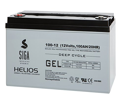 SIGA S100-12 Batterie 12 V/100 mAh
