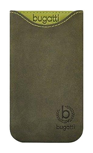 bugatti Original Skinny Blooming Pine (Größe SL) Echte Leder Vertikal Case/Cover/Pouch Retail Verpackung Geeignet Für LG L70 / L70 Dual