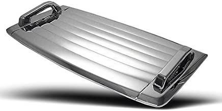 ZMAUTOPARTS Hummer H3 Hood Deck Vent Panel Handle Covers Trim Moulding ABS Chrome 3Pcs