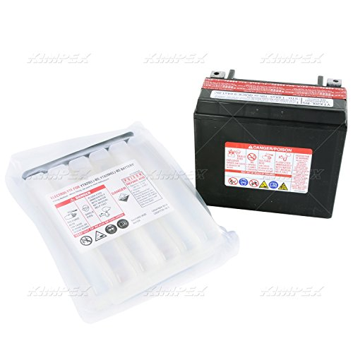 Yuasa YTX20L-BS Maintenance Free VRLA Battery for 2007-2010 Can-Am ATV Models