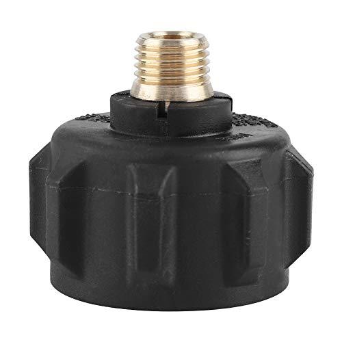 Dibiao Außengewinde 1/4 Zoll Schnellgas- Propan- Schnellregler- Anschluss mit Acme- Muttern für Grillzubehör