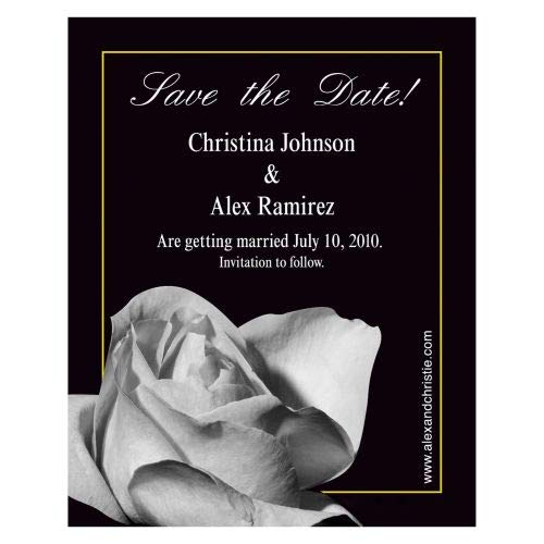 Spring new work one after Beauty products another Rose Save The Date Magnet