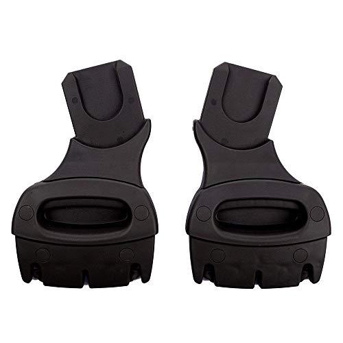 Junama Babyschalen Adapter für Kinderwagen Diamond und Madena (passend für Autositze von Maxi-Cosi, Cybex und Kiddy)