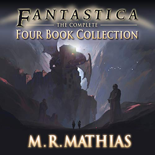 Fantastica: The Complete Four Book Collection audiobook cover art