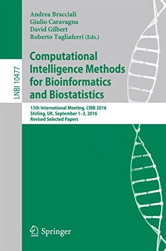 Computational Intelligence Methods for Bioinformatics and Biostatistics: 13th International Meeting, CIBB 2016, Stirling, UK, September 1-3, 2016, Revised ... Science Book 10477) (English Edition)