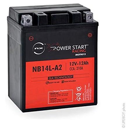 Nx Motorrad Batterie Yb14l A2 Nb14l A2 12n14 3a 12v 12ah Auto