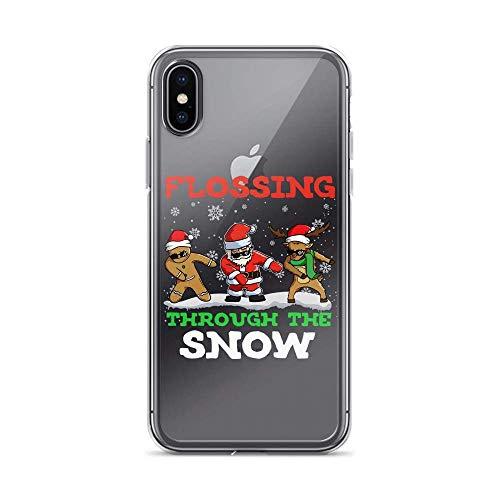 Funda para iPhone 6 Plus/6s Plus Pure de Santa Reno con diseño de copos de nieve