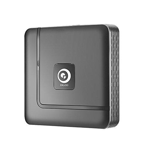 Bureze Digoo DG-XME 4 8 12CH 1080P HDMI P2P Losstaand ONVIF 2.5 NVR Recorder Voor IP Camera Beveiligingssysteem