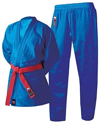 Cimac Judo Gi Erwachsene Kinder Herren Damen Uniform Blau 350g Anzug 110 120 130 140 150 160 170 180 190 200