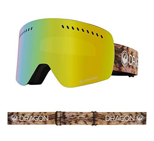 Dragon Alliance NFXS Ski Goggles, LYNXXX/LUMALENS Gold ION