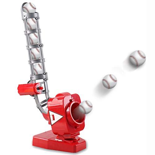 LHSG 2-in-1-Baseball-Pitching-Maschinen, tragbare Tennisball-Maschine für Kinder, verstellbare Baseball-Wurfmaschine, Tennis-Übungsspielzeug für Kinder