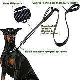 Zoom IMG-1 eyeleaf guinzaglio per cani taglia
