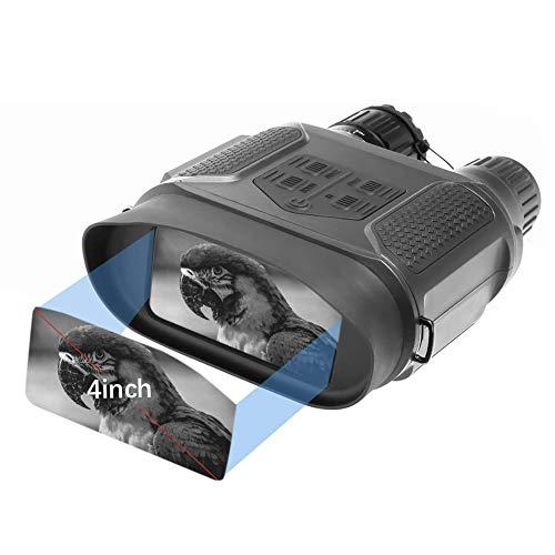 Nachtsichtfernglas, Hochauflösende 640 X 480 Nachtsichtgerät, Foto- Und Videoaufzeichnung Zum Erkennen Von Jagdverfolgung Bis Zu 400 Metern