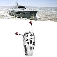 スロットル ツイン レバー シフト、エンジン デュアル レバー シフト 長寿命 インボード用 スムーズなシフト ボート用 ボート用 I/O 電源用 アウトボード用