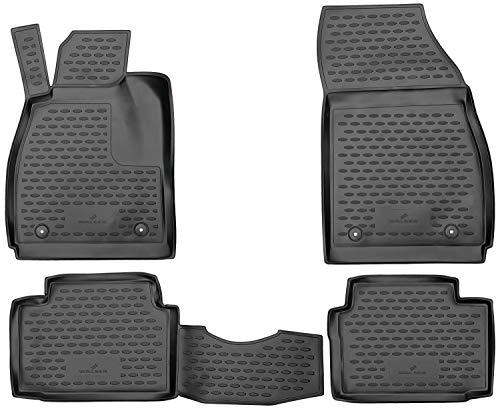 Walser Alfombrillas de Goma a Medida XTR compatibles con Opel Insignia A año 2008-2017, Alfombrilla Coche, Protector de Suelo Coche