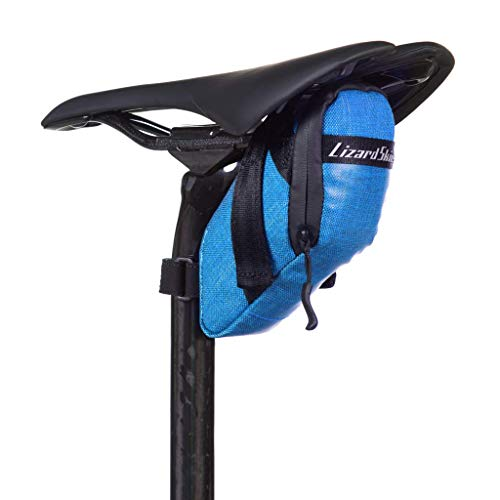 Lizard Skins Cache Saddle Bag Electric Blue, One Size