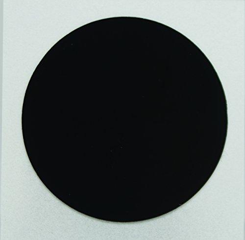 NFC Tag-Aufkleber, 25 mm, rund, 888 Byte NTAG216, kompatibel mit allen NFC-fähigen Telefonen, 10 Stück, schwarz