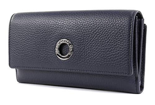 Mandarina Duck Mellow Leather Portemonnaie Dress Blue FZP6308Q