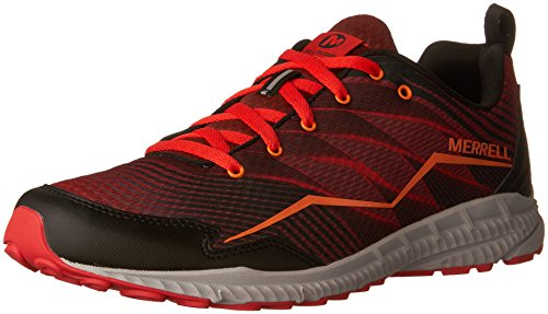 Merrell Herren Trail Crusher Traillaufschuhe, Rojo (Fired Red), 40 EU