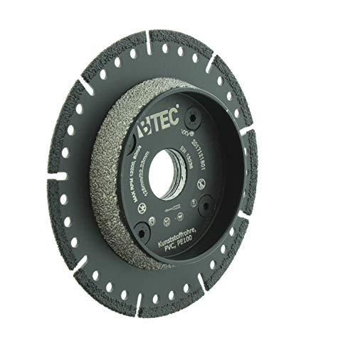 KG-Rohr PVC-Rohr Anfasscheibe-Trennscheibe 125mm x 22,23mm BTEC PIPECUT Sprint
