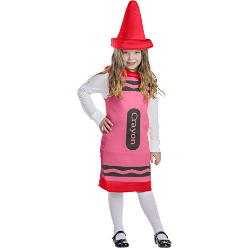 Dress Up America Costume de Crayon rouge pour enfants