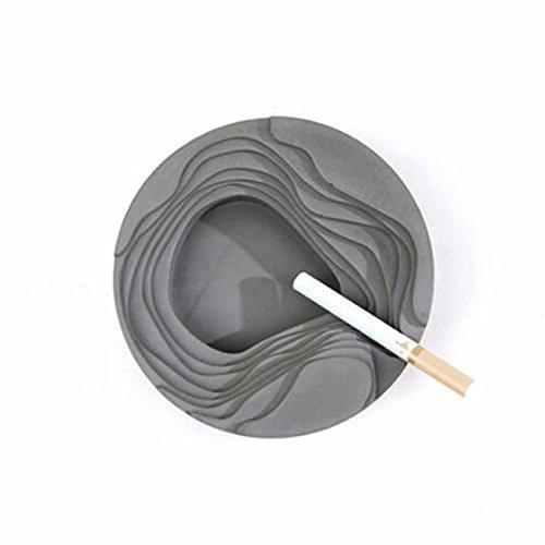 ZPSPZ-Cendrier Ciment cendrier café Salon de la décoration ménages béton décoration Style Nordique