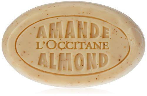 L'Occitane Cleansing and Exfoliating Delicious Soap With Flaked Almonds