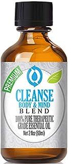 Cleanse Body & Mind Blend Essential Oil - 100% Pure Therapeutic Grade Cleanse Body & Mind Blend Oil - 60ml
