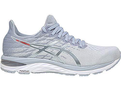 ASICS Women's Gel-Cumulus 21 Knit Running Shoes, 7.5M, Polar Shade/White