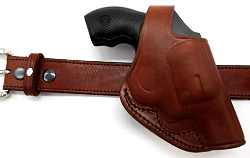 HOLSTERMART USA TAGUA CDH1 Right Hand Brown Leather Cross Draw