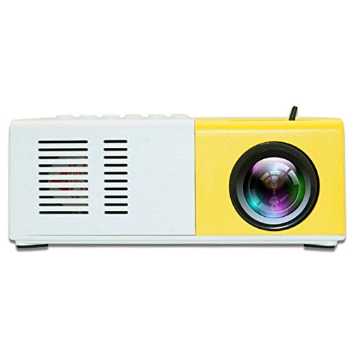 Binchil J9 Projector 1080P HD Projector Ultra Portable Projectors 30 Thousands Hours Life LED Pico Projector US Plug