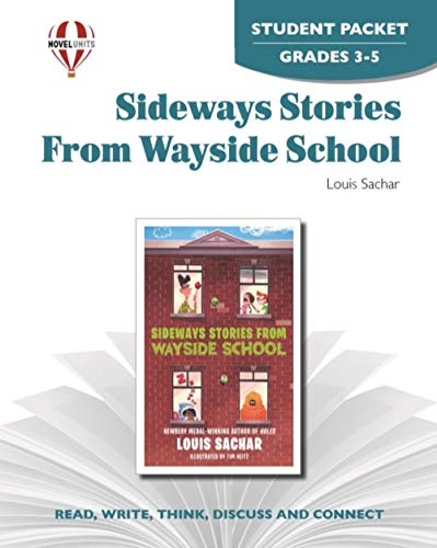 Sideways Stories from Wayside School - Student Packet by Novel Units