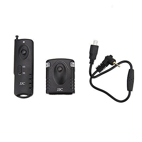 JJC Fujifilm RR-90 - Mando Disparador Remoto inalámbrico para cámaras Fujifilm XQ1/X-A1/X-E2/X-M1, hasta 30 m