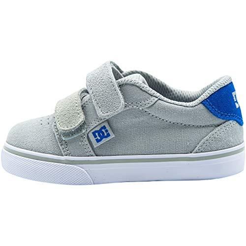 DC Shoes Anvil - Leather Shoes - Lederschuhe - Kleinkinder - EU 23 - Grau
