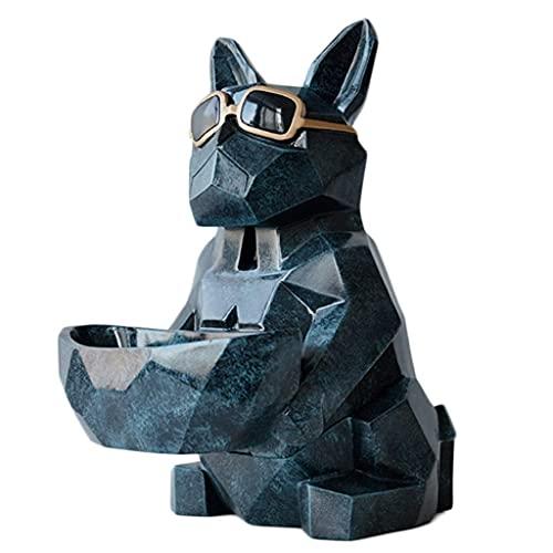 YLB Caja de tejido para perros multifuncional Animal Soporte de almacenamiento de papel de escritorio Cubierta Dispensador de tejido facial Adecuado para oficina en casa (Color: Blanco, Tamaño: 20.5x2