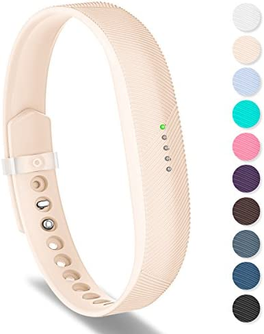 Greeninsync Band Compatible for Fitbit Flex 2 Sports Classic Silicon Replacement Bracelet Strap product image