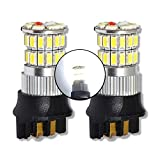MCK Auto - Remplacement pour Set d'ampoules blanches PW24W LED CanBus très clair et sans erreur compatible avec F30 F31 CC