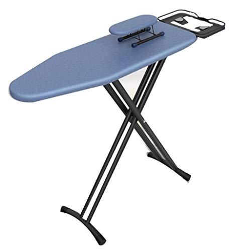 Estudio de ropa para cuarto de lavado, tabla de planchar, cómoda resistente al calor, de acero inoxidable, Consejo de planchado vertical, plancha a vapor de pie, gris/azul, 110 x 31 x 86 cm, fuerte transpiración 110*31*86CM b